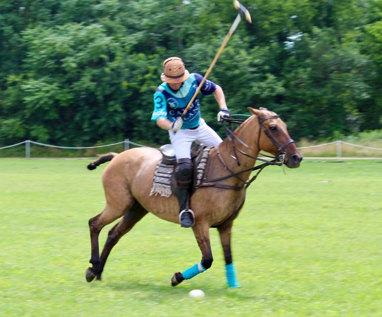 Polo Player at Victory Cup