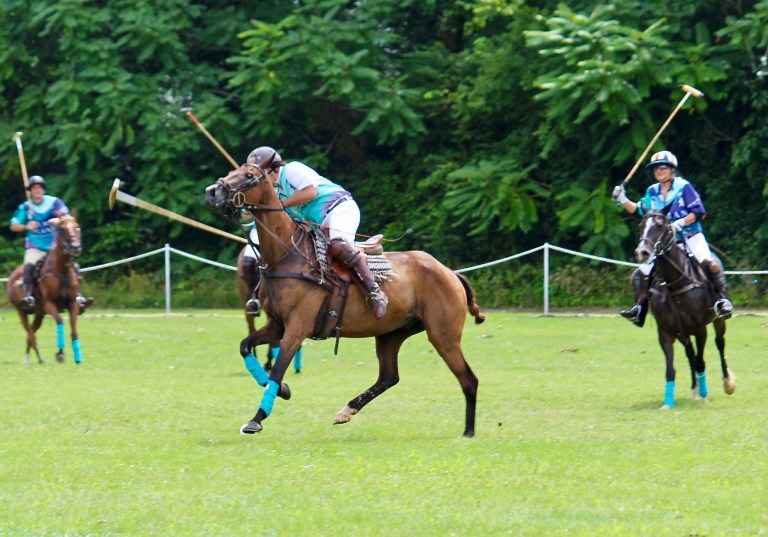 Polo Players from Cayman Islands Team Victory Cup Nashville
