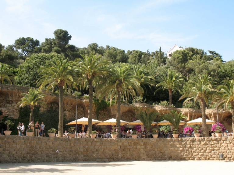 Gaudi 's Park Güell in Barcelona