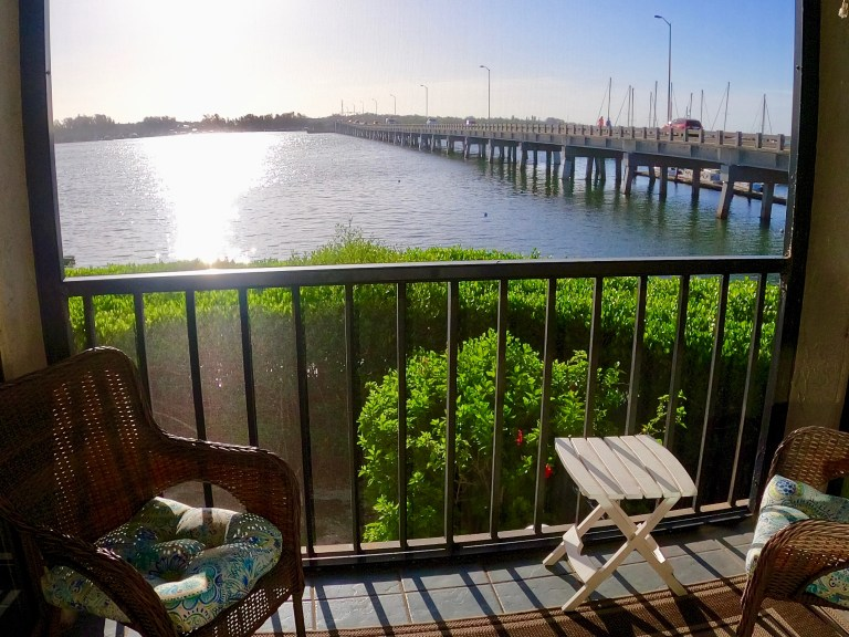 Bradenton Beach Condo overlooking bay