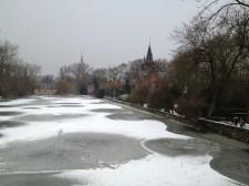 Belgium Frozen River