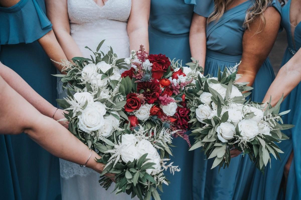 bridal bouquet cotton mill flowery branch georgia southern grace jefferson