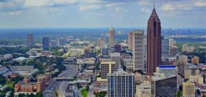 Midtown Atlanta Daytime Skyline