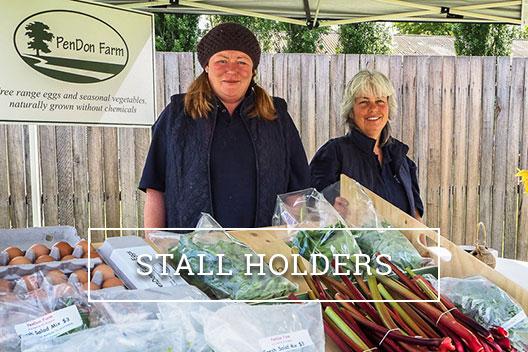 Stall holder information