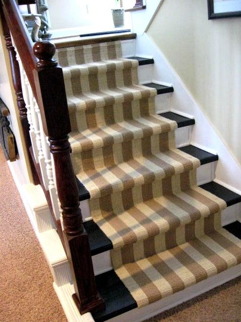 ... Removing Carpet And Painting Stairs