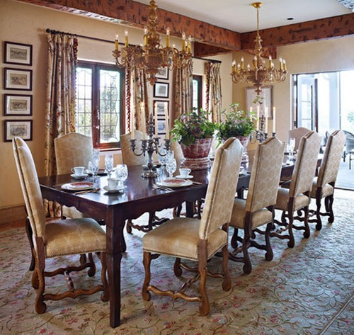 50 Dining Room Decorating Ideas And Pictures: Feature Friday: An Old-World Farmhouse In TN