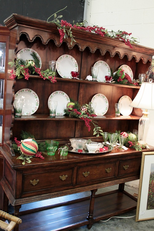 Christmas Ideas From The Antique Mall Southern Hospitality