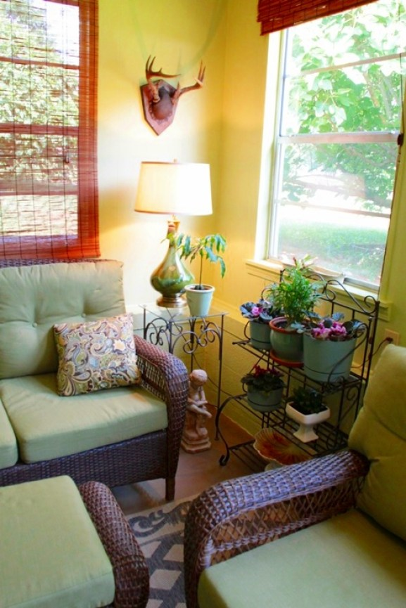 From Ugly To Beautiful The Porch Gets A New Look Amp A
