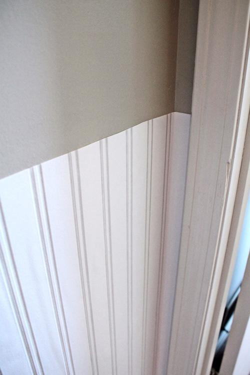 Yardstick Chair Rail Part - 28: Beadboard Wallpaper With Chairrail