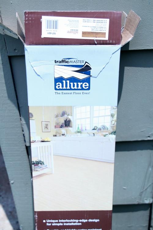 Allure Vinyl Plank Wood Floor - Southern Hospitality
