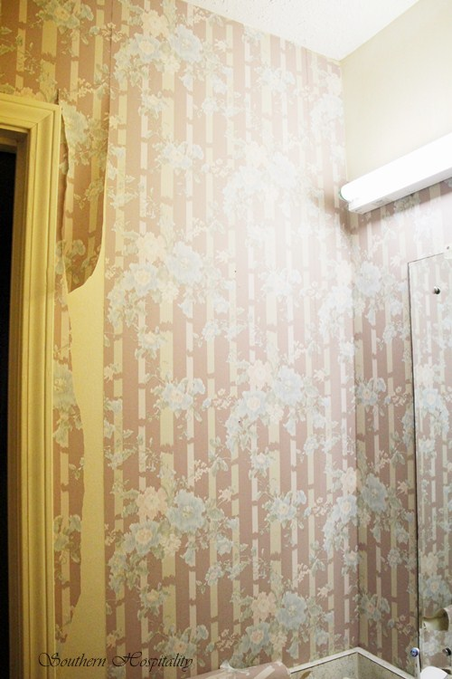 So The Wallpaper Is Coming Down