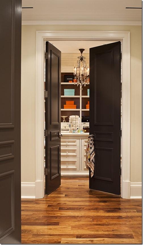 Black Interior Doors 13 Shelterness