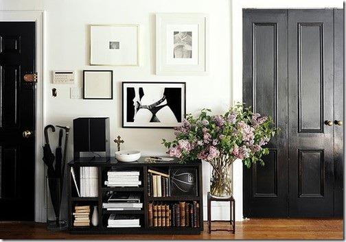 Great Black Interior Doors 4 Shelterness