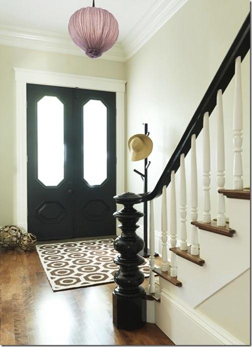 houzz black door the wool acorn blogspot