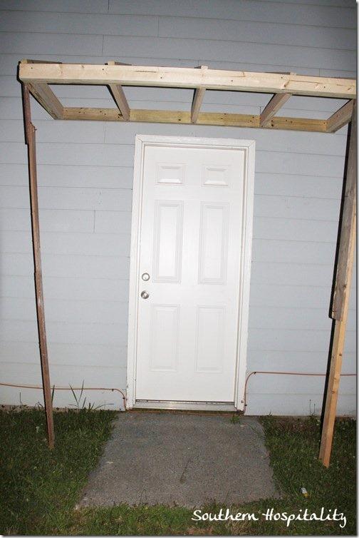 cover over door