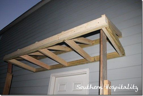 House Renovations Week 10 Building A Door Roof Or How