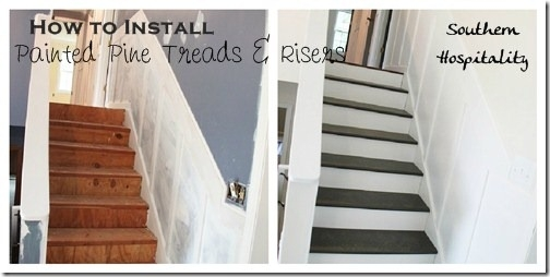 Week 20 How To Install New Stair Treads Southern Hospitality | Cost To Replace Basement Stairs | Hardwood | Stringer | Spiral Staircase | Stair Railing | Bulkhead
