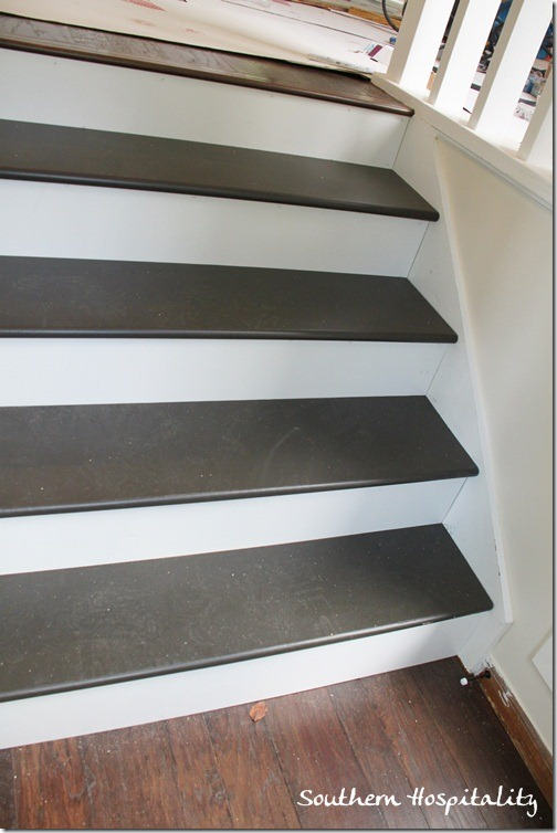 Image Result For How To Redo Stairs From Carpet To Wood