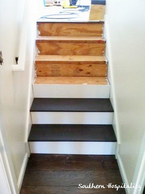 Painted Stairs Part - 27: Painting Stairs And Runners