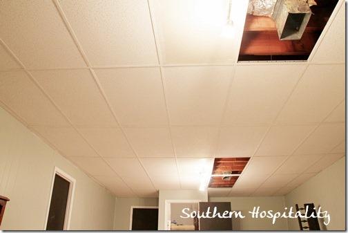 Sagging Ceiling Tiles Repair