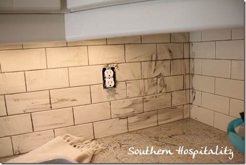 during grout