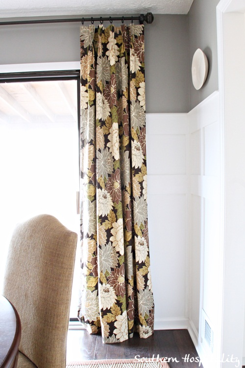 new floral drapes