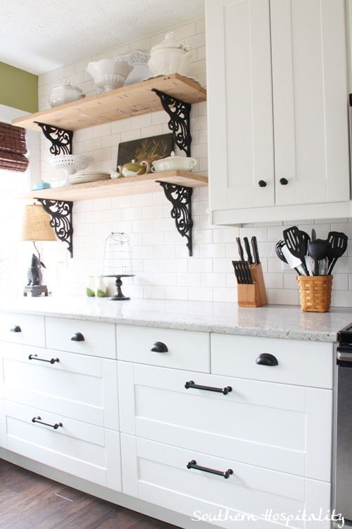 Good Ikea Kitchen Renovation Floating Shelves