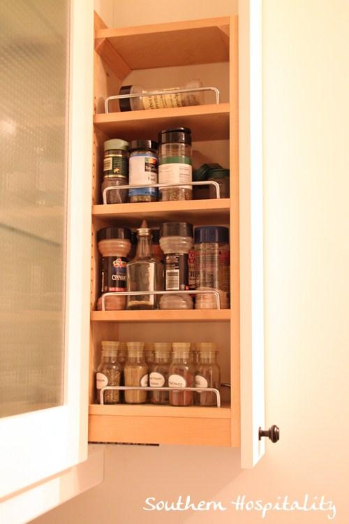 Ikea Kitchen Renovation spice rack