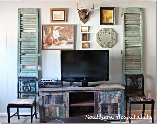 Gallery Wall Den Decorating Ideas Southern Hospitality Wall Art