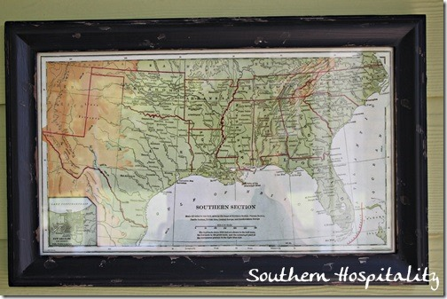 Southern States map