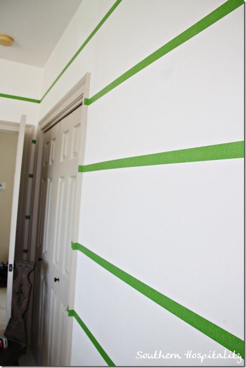 frogtape on walls