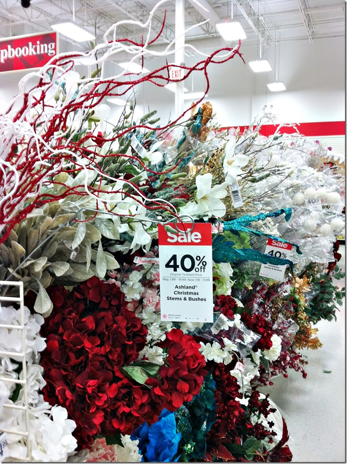 michaels christmas picks - Michaels Christmas Decorations 2015