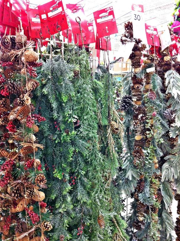 michaels garlands - Michaels Christmas Garland