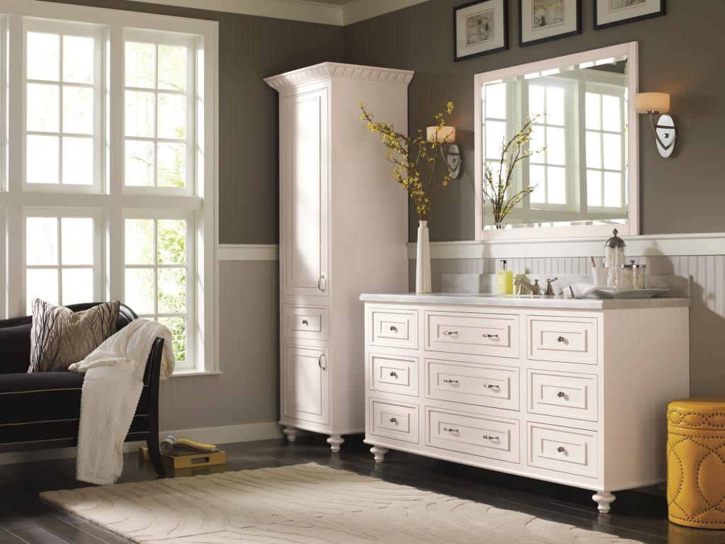 Makeover My Vanity: Omega Bathroom Cabinetry Pinterest