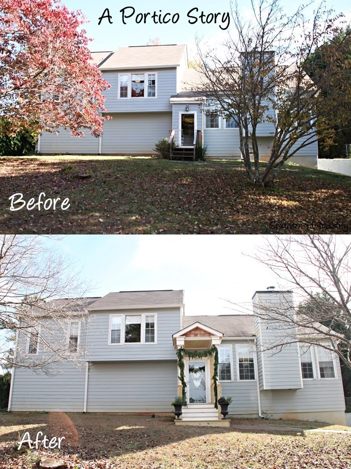 Before and After Porch