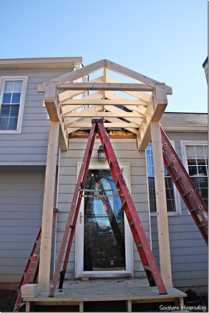 porch structure roof design
