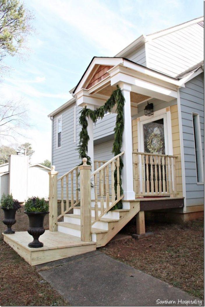 side view front porch design