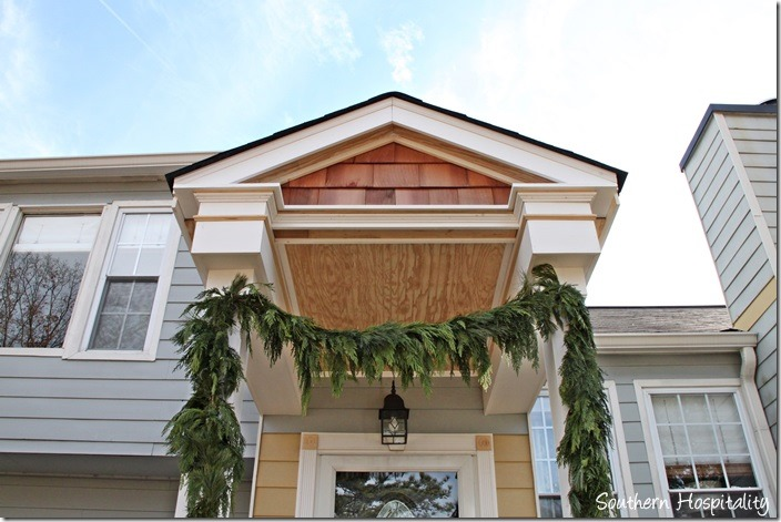 top of portico design