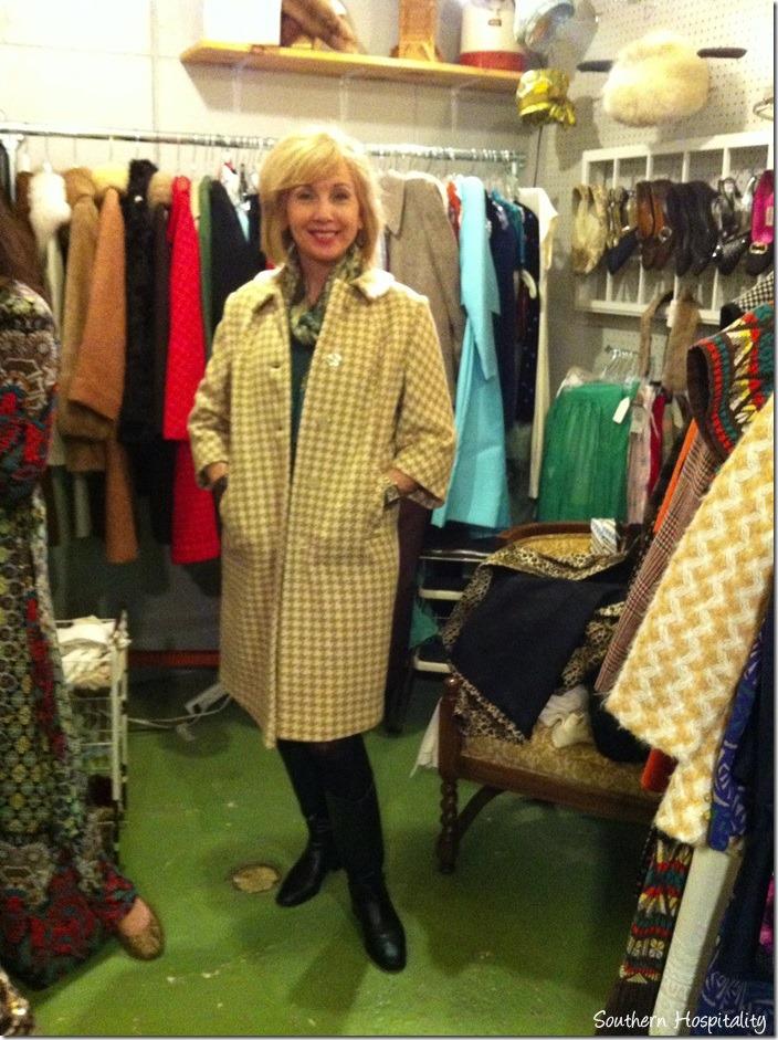 Rhoda vintage coat
