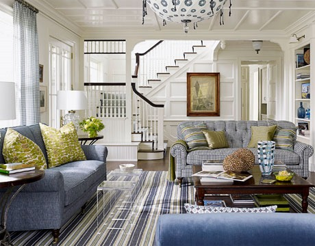 Living Room Decorating Ideas House Beautiful defining your decorating style - southern hospitality