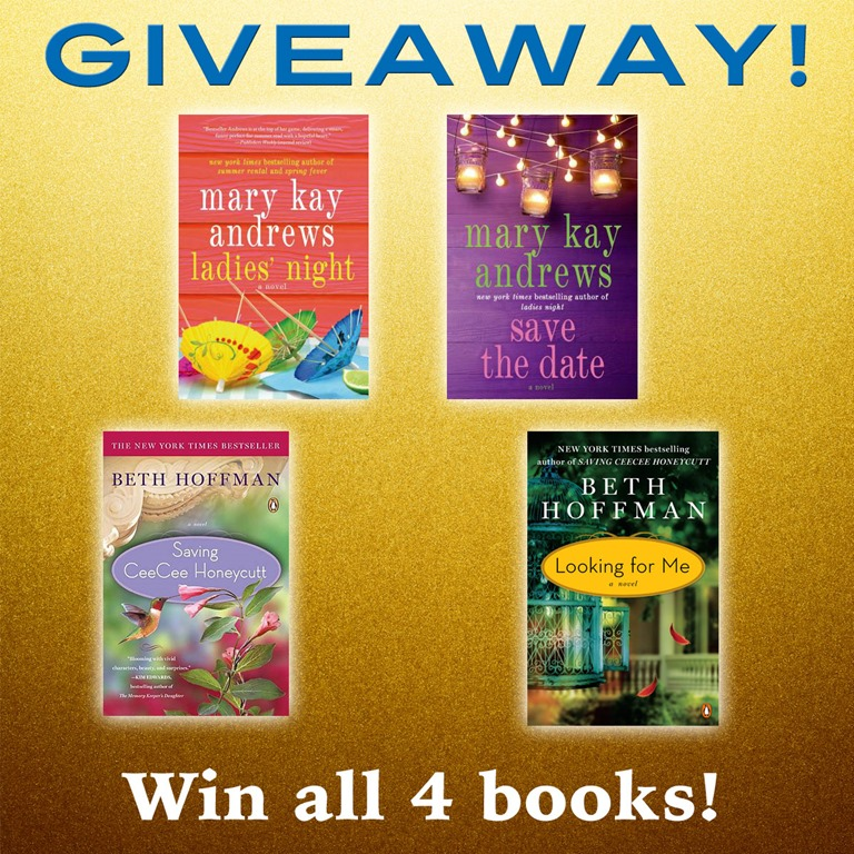 6a591f65d9c Book Giveaway  Mary Kay Andrews and Beth Hoffman - Southern Hospitality