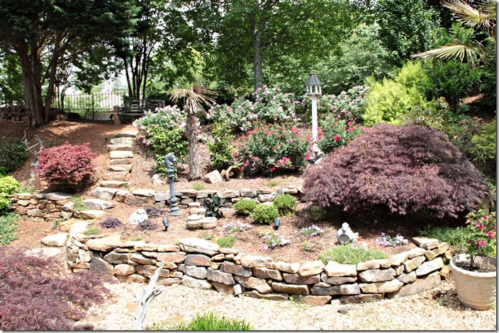 backyard rock walls
