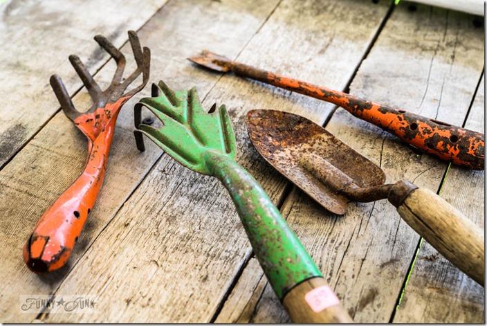 funky junk vintage tools