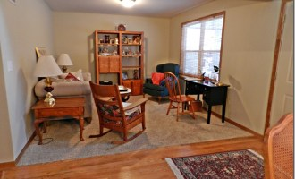 Decorating Dilemmas:  Maggie's Office Space