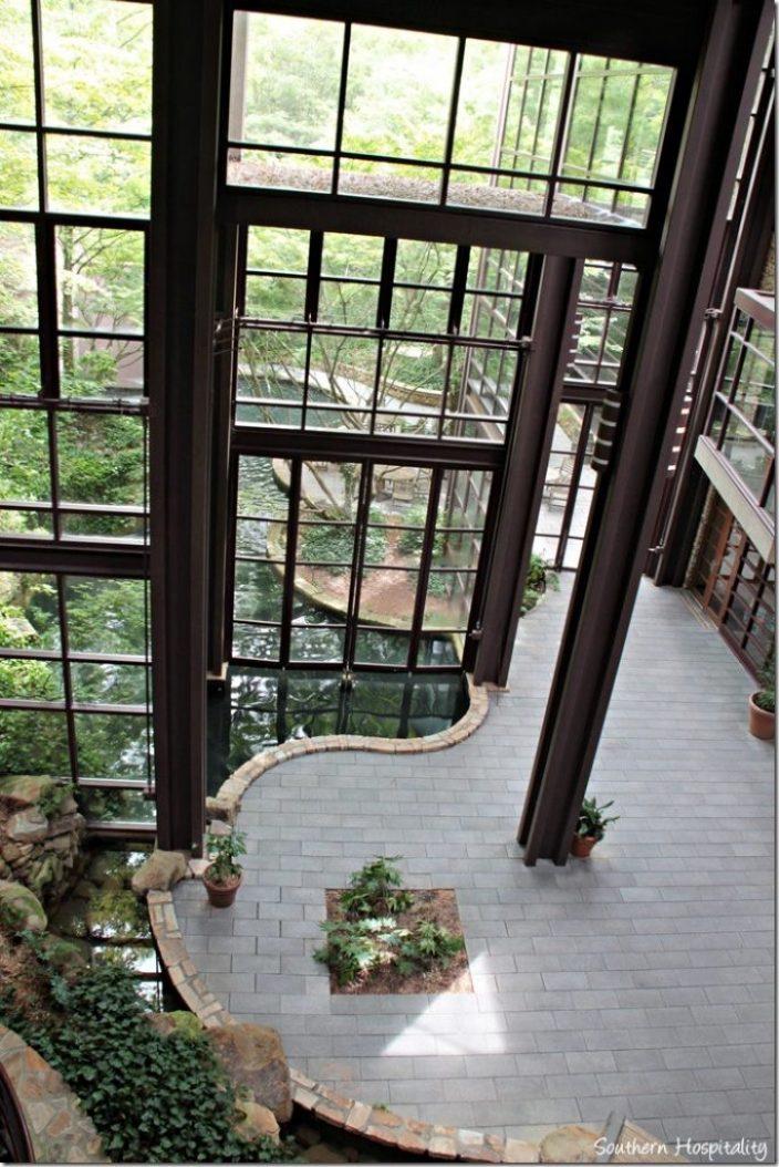 atrium and stream