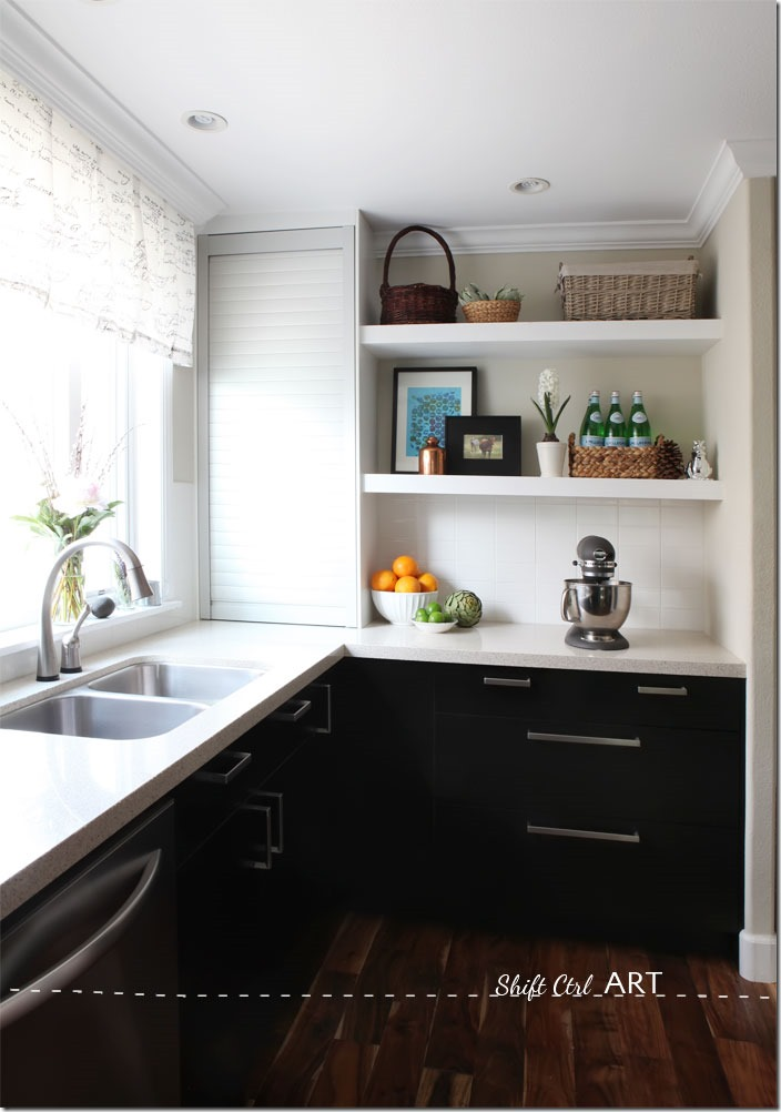 Kitchen-remodel-after-IKEA-Caesar-stone-Acacia-hardwood-DIY-10