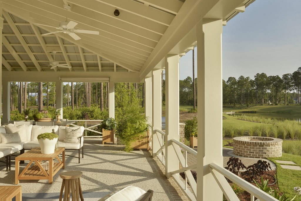 southern living idea house: palmetto bluff - southern hospitality