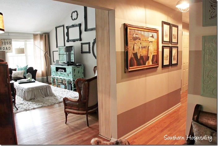 foyer to family room