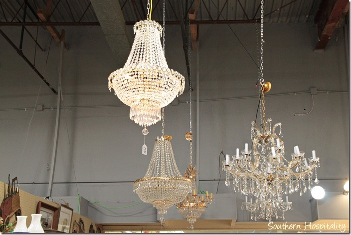 more chandeliers