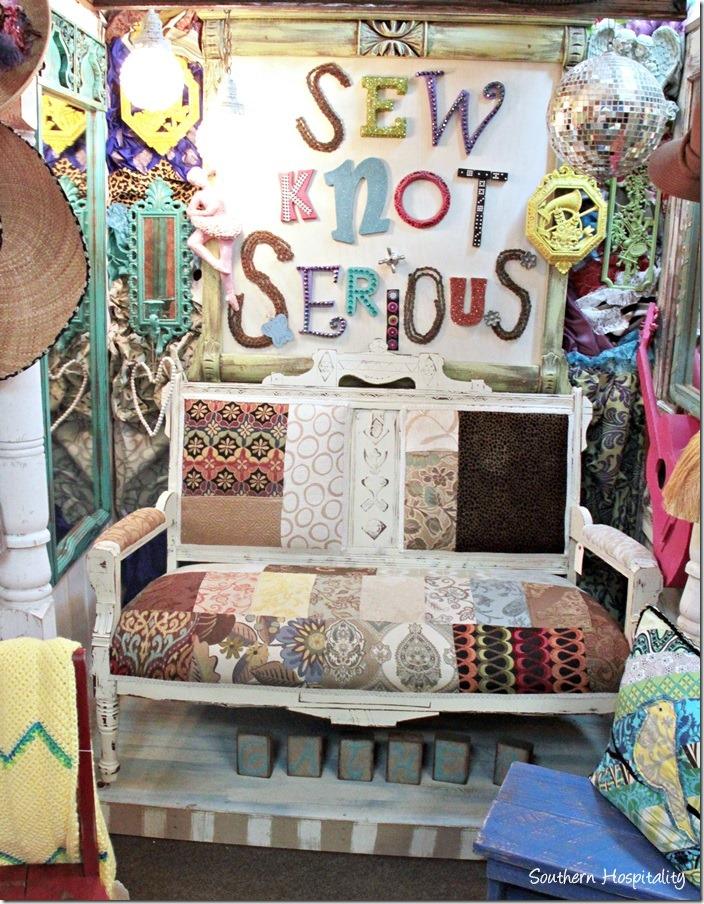 sew knot sofa